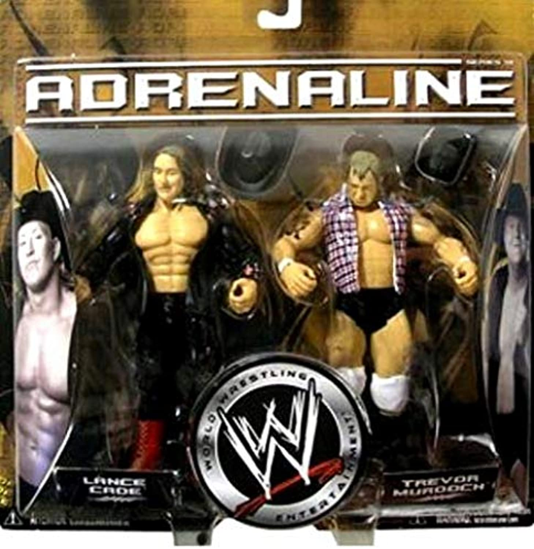 WWE Adrenaline Series 18 Lance Cade and Trevor Murdoch Action Figure