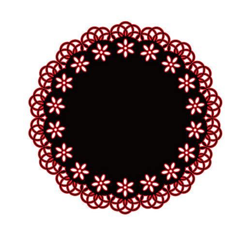 Jilibaba Plantillas de corte de metal para troquelado, diseño de círculo, para hacer tarjetas, manualidades, álbumes de fotos, álbumes de recortes, decoración de regalo