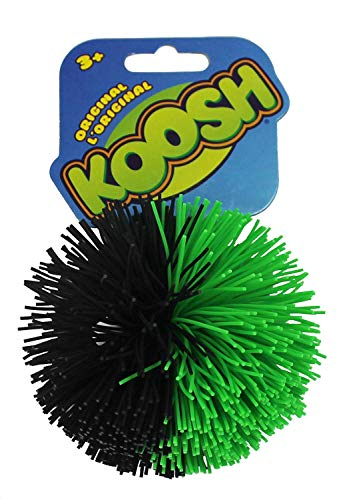 Koosh Balls - Original Koosh Balls (Black/Green)