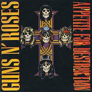 1987 Guns N Roses - Appetite for Destruction Vinyl Record  BMG Club Edition