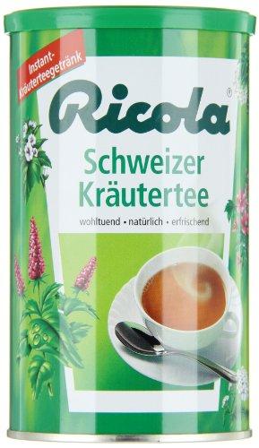 Ricola Schweizer Kräutertee Instant-Kräuterteezubereitung, 200 g Tea