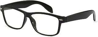 VINTAGE Nerd Geek 2 color Frame Clear Lens Eye Glasses BLACK