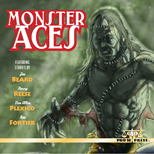 Monster Aces audiobook cover art
