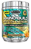 BCAA Amino Acids + Energy | MuscleTech Amino Build Energized | Pre Workout BCAAs + Electrolytes | Support Muscle Recovery, Build Lean Muscle & Boost Endurance | ENERGIZED Orange Mango (30 Servings)