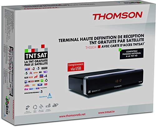 Thomson THS804 (DVB-S2 ), schwarz