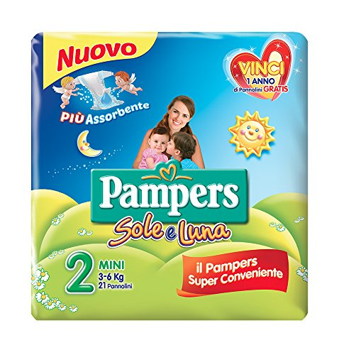 Pampers Sole & Luna Mini-Windeln 1 Pacco