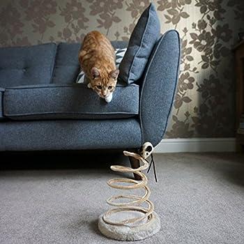 Me & My Pets Jouet Souris sur Ressort Spirale pour Chat