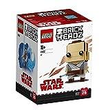 LEGO- Brickheadz Rey, Multicolore, 41602