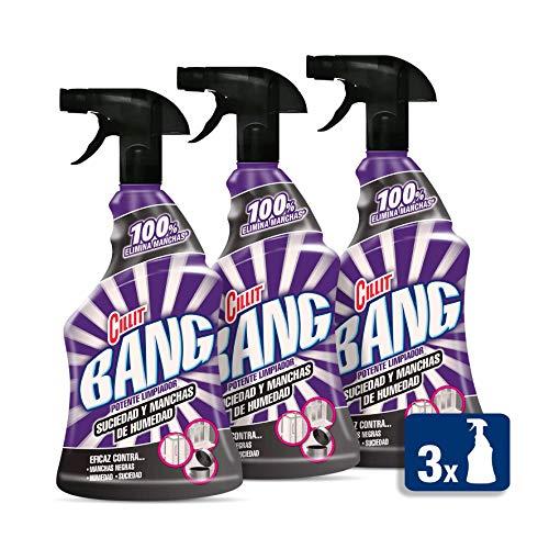 Cillit Bang Suciedad y Manchas de Humedad - Limpiador baño juntas negras spray, 750 ml