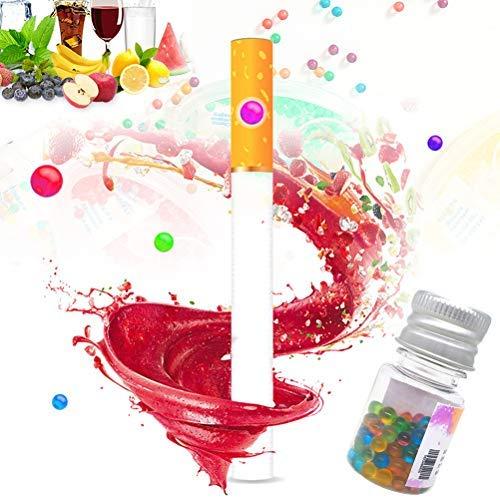 LifeBest 100 STÜCKE Aromakapseln mit gemischtem Geschmack DIY Explosionsperlen Ball Capsule Zigarettenfilter