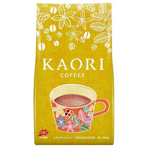 小川珈琲 KAORI(カオリ) COFFEE(コーヒー)(粉) 300g×12袋入×(2ケース)
