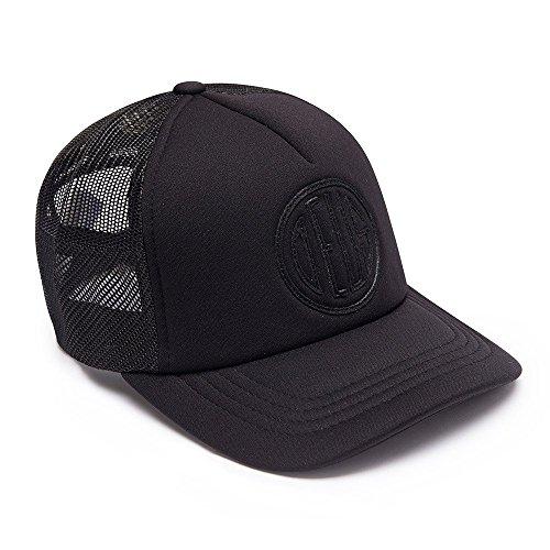 Deus Kappe Trucker Pill - Black on Black