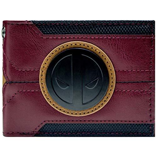 Deadpool Anzug Entwurf Portemonnaie Geldbörse Rot