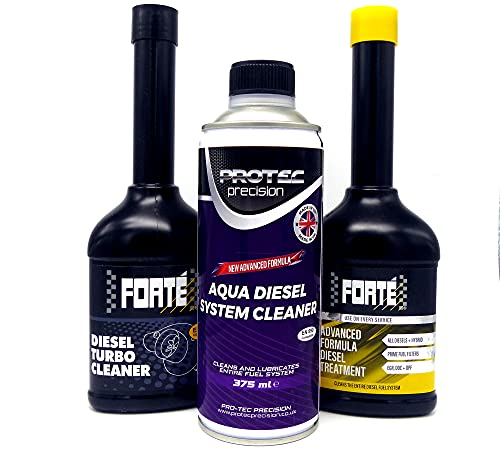 Forte Advanced Diesel Fuel Treatment and; Turbo Cleaner pack of 2