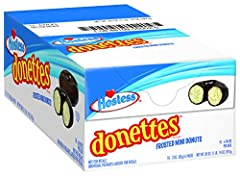 SWEET RINGS - Delicious white cake frosted with chocolate INCREDIBLY TASTY - An on-the-go snack for morning, day or whenever your sweet tooth calls TRANS FAT FREE - 0g of trans fat MADE BY HOSTESS - Creator of America's favorite baked goods HAVE A TR...