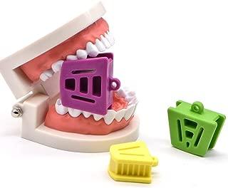 Angzhili Dental Silicone Mouth Prop Dental Bite Block Orthodontic Bite Blocks Dentistry Accessories (3 Pcs/Set)