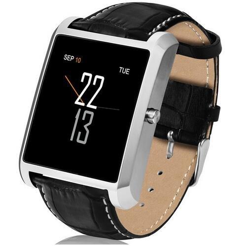 LEMFO LF20 Reloj Inteligente Hombres Mujeres Dispositivos de Despertar Muñeca Actividad Monitor de Ritmo Corazón MTK2502 para IOS Android Phone - Plata