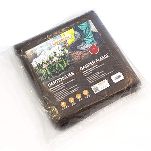 klenatex® Gartenvlies Braun Unkrautvlies Bodengewebe 50g (5, 3.2)