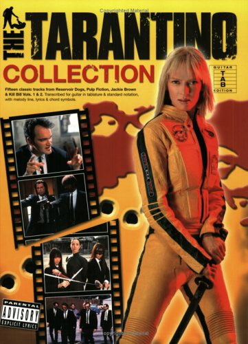 The Tarantino Collection: Noten für Gitarre: Guitar Tab (with Chord Boxes (Pvg)