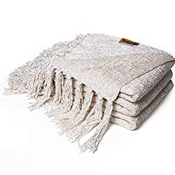 The coziest throw blankets for fall and winter.