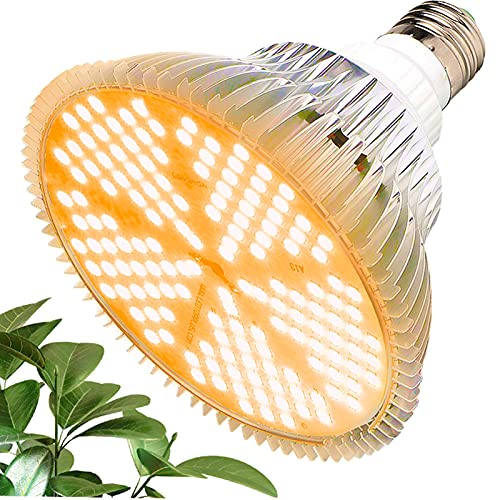 MILYN LED Grow Light Bulb 100W Sunlike Full Spectrum Grow Lamp 150 LEDs Plant Lights, E27 Grow Lights for Indoor Plants, Hydroponic Growing Greenhouse Succulents Veg and Flower Plant Lamp