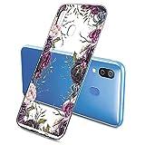 Oihxse Fashion Flowers Case Compatible with Xiaomi Mi 5C,