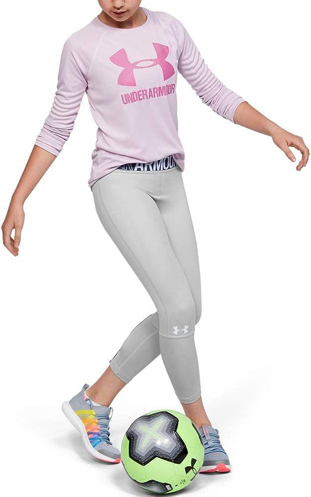 5 ☆ popular Under Armour Girls' HeatGear 2021 model Ankle Heather Crop