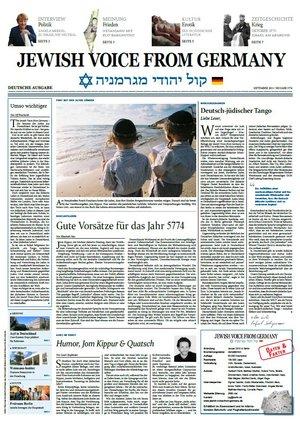 Jewish Voice of Germany [Jahresabo]