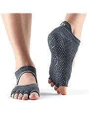 Toe Sox Unisex - Volwassen Half Toe Bellarina yoga- en pilates-antislipsokken voor volwassenen.