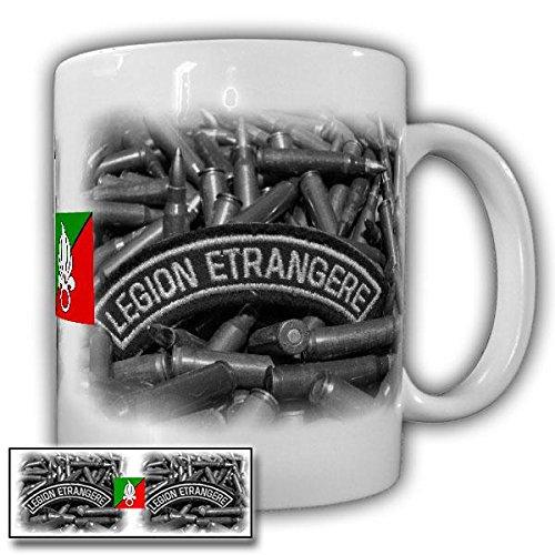 Tasse Legion Etrangere Veteran Fremdenlegion Abzeichen Frankreich Legionär Kaffee Becher #20830