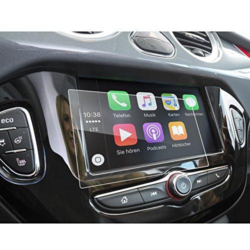 LFOTPP Opel Corsa Zafira Karl Rocks 7 inch navigatie beschermfolie - 9H krasbestendig anti-vingerafdruk pantserglas displaybeschermfolie GPS Navi folie