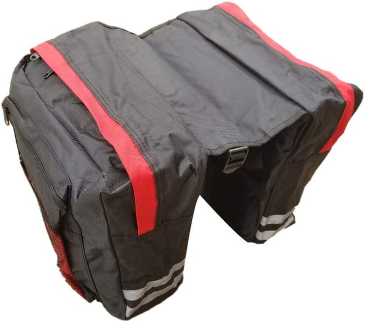LIOOBO SEAL Today's only limited product Bicycle Rear Seat Bag Carrier Double Pannier Cycling Bike