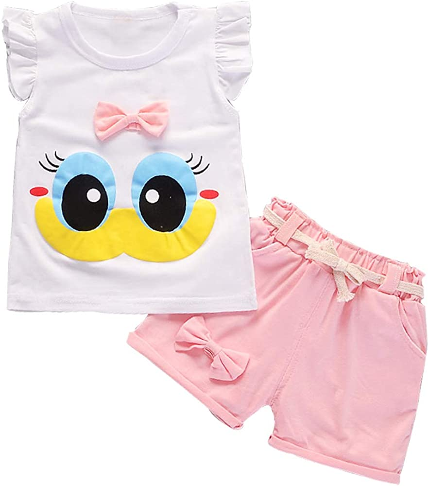 Baby Girl Clothes Summer Outfits Short Pieces store T-Shir with 100% quality warranty! Sets 2