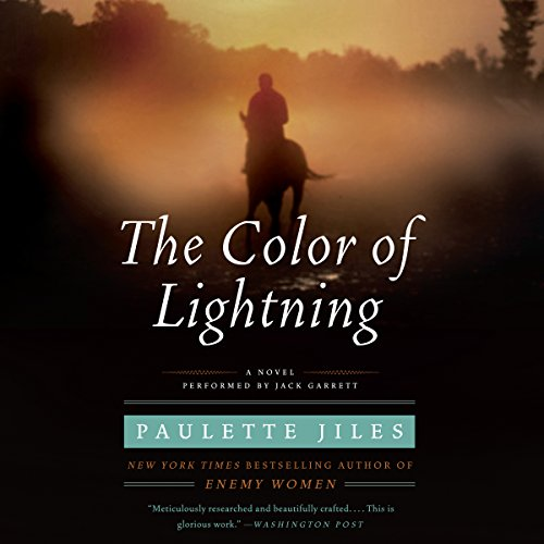 The Color of Lightning audiobook cover art