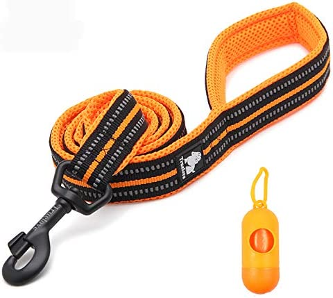 Top New Soft Handle Dog Running Leash -[1.NBRL1:Rope 2.TL3 3.TL4 4.ZLLE009 5.ZSF125/120/85 ] Heavy Duty Reflective Walking & Running Leash for Dogs