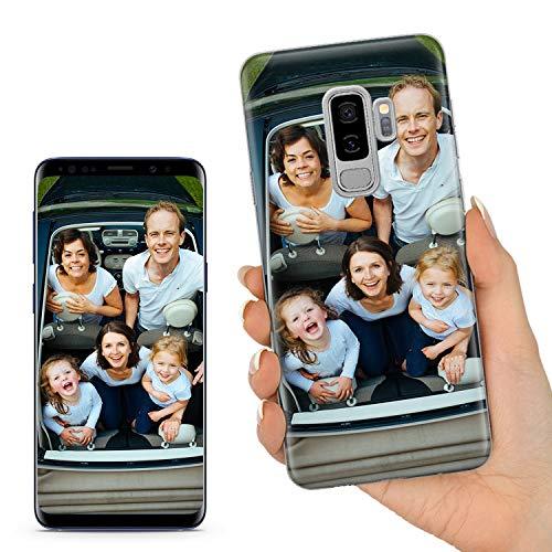 TULLUN Personalisierte Handyhülle für Samsung Galaxy S9 - Ihr Eigenes Bild Foto Idee Brauch Soft Gel Schutzhülle Handy Hülle - Ihr Eigenes Design