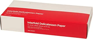 Gordon choice DeliWaxPaper10-500 Deli Wax Paper, 10 x 10.75 (Pack of 500)