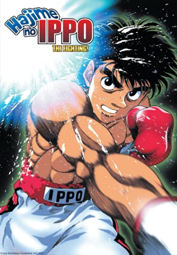 """Hajime No Ippo the Fighting!: Japanese Anime Notebook, Otakus Gifts (6"""" X 9"""" 100 Pages) With Blank Paper for Drawing, Writing, Sketching Notebook for Manga Boys, Girls, Teens, Teen Artists."""