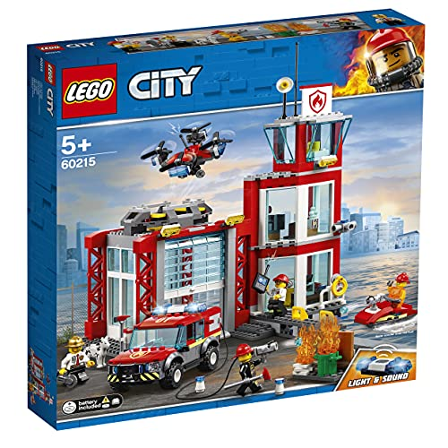 LEGO60215CityParquedeBomberosSetdecontrucciónparaNiñosa Partir de...