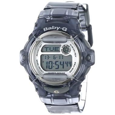 Casio Women's BG169R-8  Baby-G  Gray Resin Sport Watch
