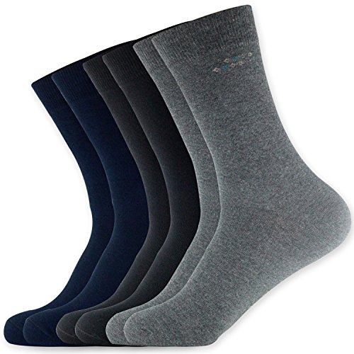 HOGAR AMO 3 paar herensokken katoen Classic strepen/Karo business sokken comfortabele jongen sneakers/sport/vrije tijd sokken zonder naad maat 39-46