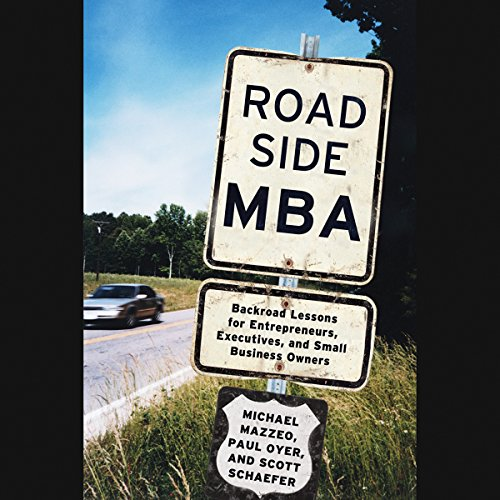 Roadside MBA audiobook cover art
