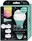 Wilkinson Sword Intuition Sensitive Care Vorteilspack Damen Rasierer mit 3 Ersatzklingen - 2