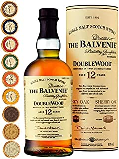Balvenie 12 Jahre Single Malt Whisky  9 Edel Schokoladen in 9 Sorten