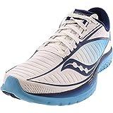 Saucony Women's Kinvara 10 Running Shoe - Color: White/Blue (Regular Width) - Size: 10.5