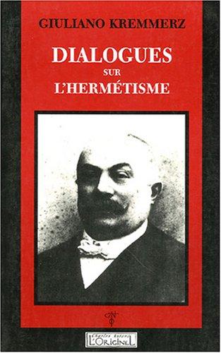 Dialogues sur l'hermetisme