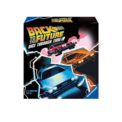 Ravensburger 26895 Back to the Future Versione Italiana, Light Strategy Game, 2-4 Giocatori, Età Consigliata 10+