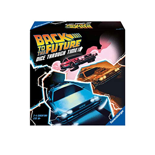 Ravensburger 26895 Back to the Future Versione Italiana, Light Strategy Game, 2-4 Giocatori, Età Consigliata 10+