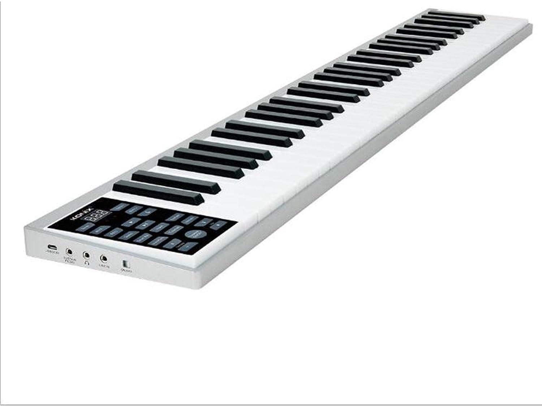 BESTSOGER Intelligentes Klavier, 61-Pey Multifunktionstastatur, eingebautes Mikrofon-Intelligent Bullet, Bildspielzeug für Kindereinsteiger
