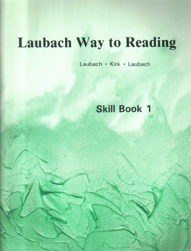 Laubach Way To Reading Skill Book 1 Sounds And Names Of Letters